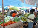 St. George's Market Square - 8 minutes drive from the Comfort Stay