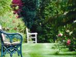 Take a stroll around the lovely gardens or take a seat and enjoy the solitude
