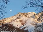 Wasatch Mountains, view from front door