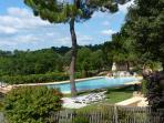 Our large panoramic swimming pool, Sarlat, Dordogne