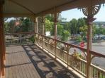 Breeze flow through this veranda,good for rest and relax anytime of the day or night. Fantastic view