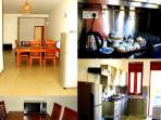 Fully equipped Kitchen  & Dinning area