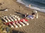 WEDDING ON MALIBU BEACH