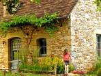 La Petite Borde, traditionnal stone gite at 3km from Sarlat  in the Dordogne