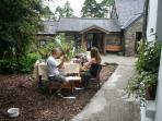 outside farmhouse, cottage and studio