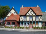 The Town of Solvang was used as the model for Disney's Movie 'Frozen.'
