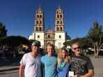 Visiting the downtown Cathedral
