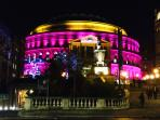 The Royal Albert Hall 500m away