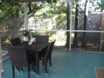 Outside screened in Patio