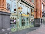 The rear of Harrod's store - 2 minutes' or less from your apartment