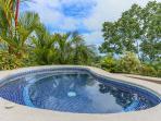 top deck splash pool with stunning views.