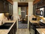 Kitchen: oven/stove top, MW, Dishwasher, Refrig. Fully equipted with dishware & pans. Washer/Dryer.