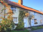 Two character cottages close to Cambridge, Fowlmere RSPB and The Chequers Fowlmere  and Sachins