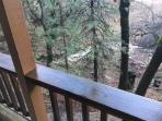 Seasonal Creek off deck