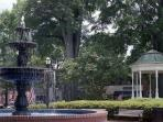 Historic Marietta Square. 3 miles from our home