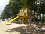 lifeguard station (Heywoods Beach)