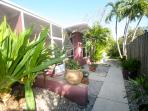 Mature gardens, beautiful landscaping - Only two units on property