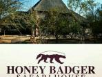 We look forward to your visiting us at Honey Badger Safari House