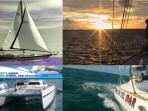 Sunset Sailing, Day Charters, even qualification for ASI all available locally