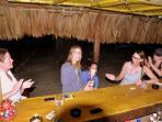 Have fun at our tiki bar