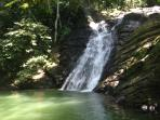 Posa Azul waterfall 5 minute drive from house