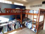 Bedroom #2 Bunk beds, full bath, TV, ocean view (sleeps 4)