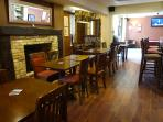 Family and dog friendly pub with Sky sport and pool table