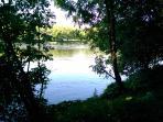 La Dordogne au bout du jardin