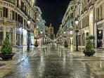 Calle peatonal Larios, a 5 minutos del piso