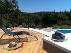 Sun deck in August