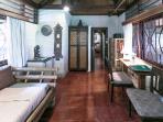 Living Room, The Bungalow, Murni's Houses, Ubud, Bali