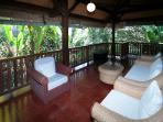 Veranda, The Bungalow, Murni's Houses, Ubud, Bali