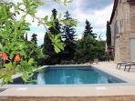 Private pool, three terraces