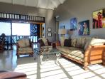Sea Dreams - Harbour Beach Village Condominiums, St. Croix, USVI - living room