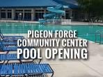 Community Pool only 2.7 miles from the cabin. Only $2.50-$3 per person.