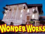 WonderWorks is 4.5 miles from the cabin.