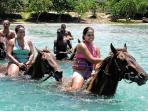 Horse back riding at Chukka Cove