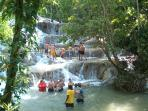 Dunns River Falls – 10 minutes' drive towards Ocho Rios
