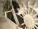 Moulin de Vaudres | roue