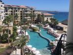 Casa Dorada. Beach front vacation resort at Medano Beach in Cabo San Lucas