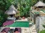 Villa Red Palms, Umalas, Bali, Main Pool from Master Suite Terrace