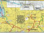 Area towns of Land O Lakes WI, Bruce Crossing MI, Ewen MI, Bergland MI, others