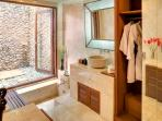 Garden Suite Bathroom, Red Palms Villa, Umalas, Bali