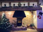 Christmas 2015. All decorated throughout the cottage