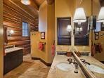Back master bathroom
