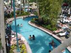 Lazy River at MGM Grand pool with free access for our guests