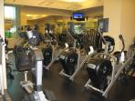 Fitness room at the Signature with free access for our guests