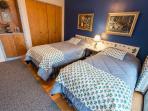 The Twin Bedroom- comfy mattresses.