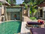 Poolside at Villa Red Palms, Bali