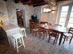 wine cellar 'tasting area'
